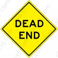 "DEAD END 16.5""x16.5"" Aluminum Will Never Rust Made in USA UV Pro"
