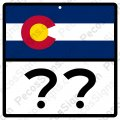 "Colorado Highway Sign - Any Hwy# on a 12""w x12""h Aluminum Sign"